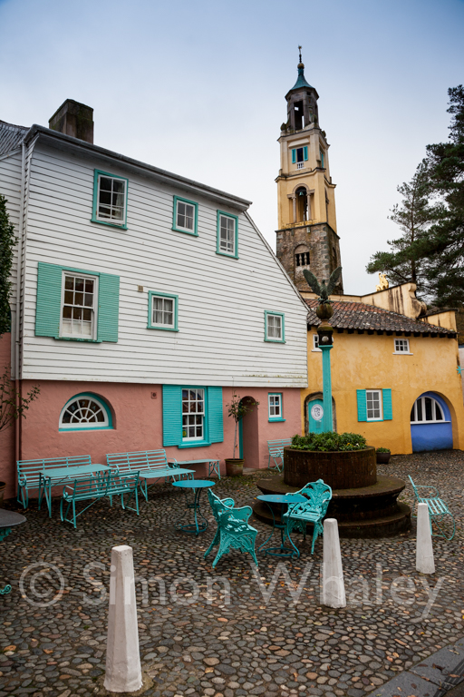 We got sidetracked to Portmeirion on our way in ...
