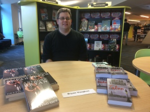 Bryan ready to sell copies of 'Taken' and 'Getting Out'